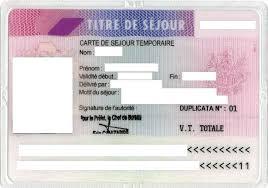 carte de sejour mariage ville de famars le titre de séjour