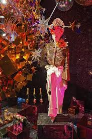 harvey nichols unveils its studio 54 inspired christmas window
