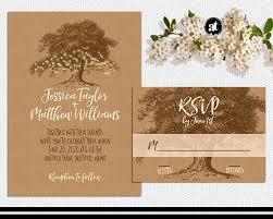 rustic wedding invitation kits fall wedding invitations kits paperinvite