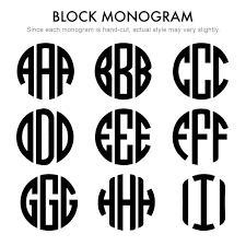 initial monogram fonts two letter block style gold monogram