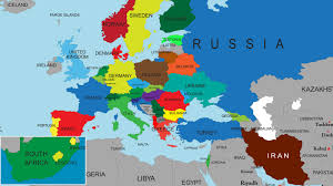 map of the countries map of european countries and europe countries map