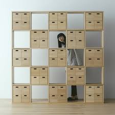 pair with drawer modules storage containers stacking shelf