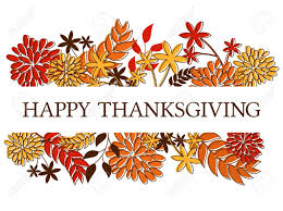 thanksgiving leaves clipart thanksgiving seasonal design with autumn leaves and flowers