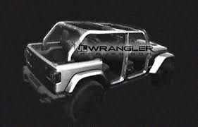 has the 2018 jeep wrangler been leaked images show intriguing