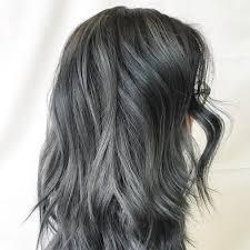 black grey hair the 25 best dark grey hair ideas on pinterest grey hair or dyed