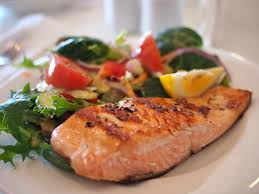 cuisine dietetique recette cuisine diététique équilibre pavé de saumon et légumes