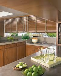 hunterdouglas country woods reflections blinds kitchen