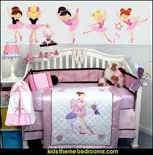 Ballerina Crib Bedding Decorating Theme Bedrooms Maries Manor April 2016
