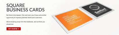square business cards printing 6090