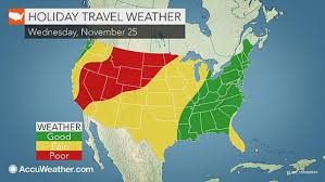 weather for thanksgiving thanksgiving travel forecast snow to disrupt travel from