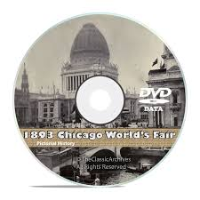 Chicago World S Fair 1893 Map by Chicago World U0027s Fair 1893 Columbian Exposition 50 Vintage Books