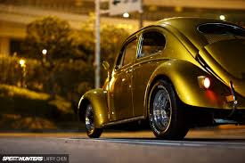 gold volkswagen beetle german born california inspired built in japan speedhunters