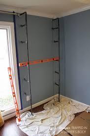 Home Office Bookshelves by Diy Pipe Bookshelves And Desks Hometalk