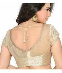 golden blouse studio shringaar golden brocade padded blouse with yoke buy