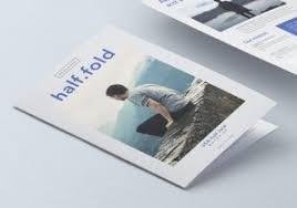 brochure half fold medic bi fold brochure template brochure