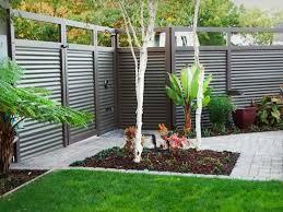 Backyard Privacy Fence Ideas Privacy Fence Ideas For Backyard Marceladick Ideas