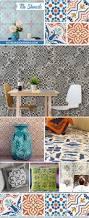 paint floors walls and kitchen backsplash with diy faux tile