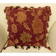 Gold Bed Cushions Accessories Interesting Decorative Olive Pattern For Chenille