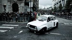 renault 4 225bhp renault 4 actually makes gumball 3000 top gear