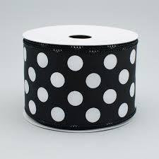 black and orange polka dot halloween background ribbon craftoutlet com