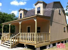 Barn Style House Plans With Wrap Around Porch by Mega Storage Sheds Barn Cabins