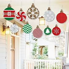 hanging ornaments outdoor and