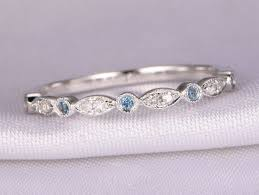 london wedding band diamond topaz wedding ring london blue topaz ring