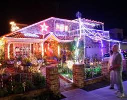 house covered in christmas lights australia photos world u0027s