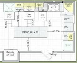 kitchen island clearance space around kitchen island innovation inspiration kitchen island