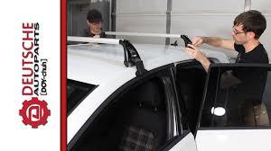 Jetta Roof Rack by Oem Vw Mk7 Golf Gti Roof Rack Base Carrier Bars Diy How To