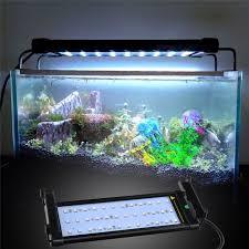 30 led aquarium light extendable 30 50cm rgb 16 colors aquarium led lighting fish tank led