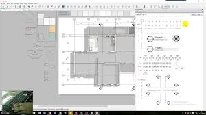 layout sketchup drawing floor plan part 01 youtube