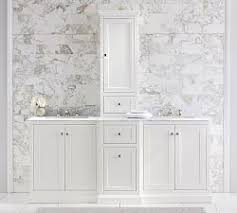 Double Vanity With Tower Double Bathroom Vanities Pottery Barn