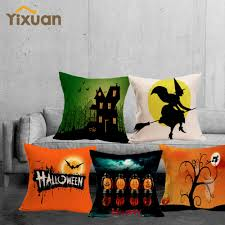 cute halloween cover photo compare prices on pillow linen cover online shopping buy low
