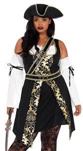 size black sea buccaneer costume plus size pirate costume