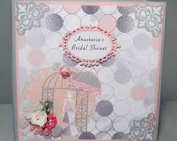 bridal shower book etsy