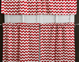 Pink Chevron Curtains Red Chevron Curtains Etsy