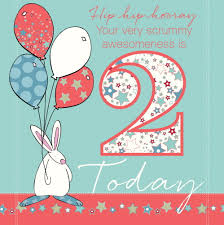 for a special baby boy who is two today from rufus rabbit at
