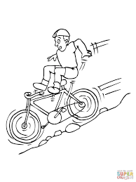 bicycle coloring book pink panther on bicycle coloring pages for