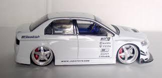 jada toys import racer mitsubishi lancer evolution viii 1 24 scale