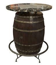 Wine Bar Table Wine Barrel Table Ebay
