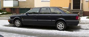 audi v8 lang audi 1991 v8 lang the history of cars cars customs
