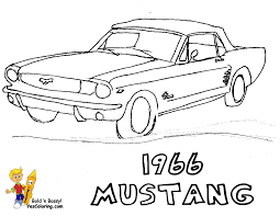 cartoon cars coloring pages fierce car coloring ford cars free mustangs t bird car