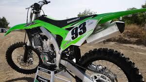 motocross bike images 2017 kawasaki kx450f dirt bike magazine youtube