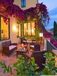 beautiful house terrace hd desktop wallpaper high definition