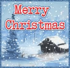 christmas animations merry christmas snow card