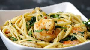 Dinner Ideas With Shrimp And Pasta One Pot Lemon Garlic Shrimp Pasta Youtube