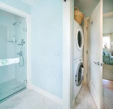 laundry in bathroom ideas bathroom washer and dryer transitional laundry room