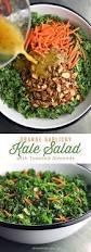 Easy Salad Recipe by Garlicky Orange Kale Salad She Wears Many Hats