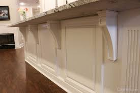 corbels for kitchen island furniture details for cabinetry cabinets com